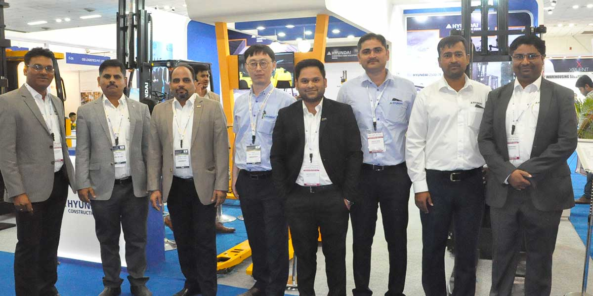 8th India Warehousing Show, New Delhi | Hyundai Construction